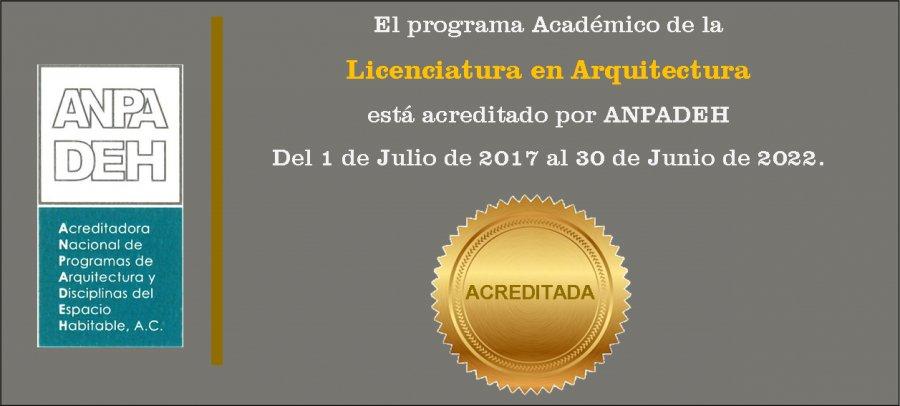 Programa Académico Acreditado