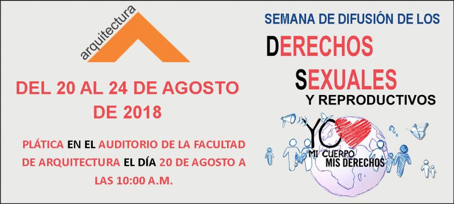 Semana de difusión de los Derechos Sexuales y Reproductivos