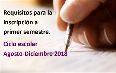 Requisitos Inscripción Primer Semestre